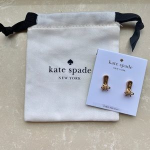 Kate Spade New York Ballet Slipper Earrings